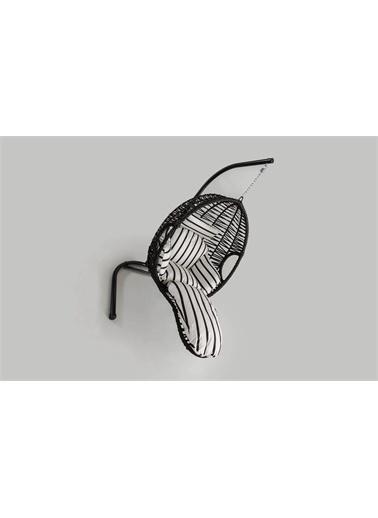 Engince Mobilya Rattan Bahçe Balkon Salıncağı Zebra Minder Cv23 Renkli